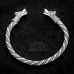 Браслет викинга серебро